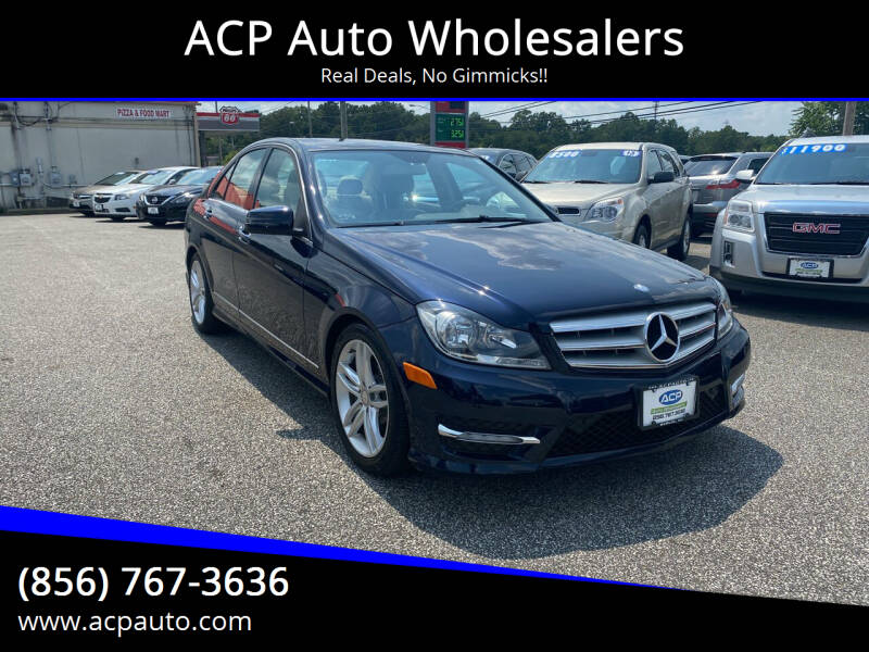 2012 Mercedes-Benz C-Class for sale at ACP Auto Wholesalers in Berlin NJ