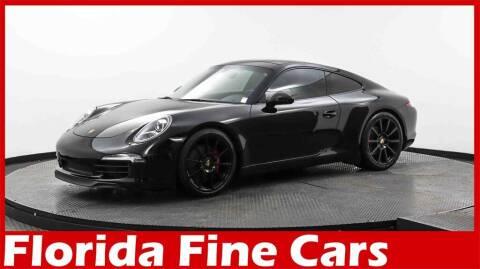 2015 Porsche 911 for sale at Florida Fine Cars - West Palm Beach in West Palm Beach FL