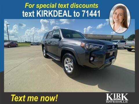 2020 Toyota 4Runner for sale at Kirk Brothers Batesville in Batesville MS