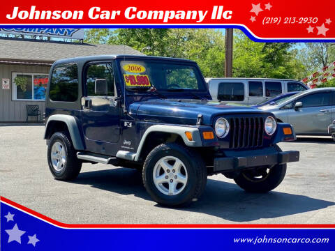 2006 Jeep Wrangler for sale at Johnson Car Company llc in Crown Point IN