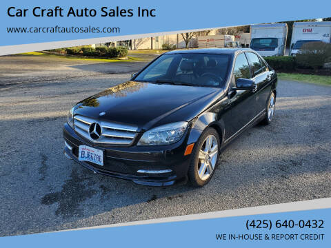 2011 Mercedes-Benz C-Class for sale at Car Craft Auto Sales Inc in Lynnwood WA