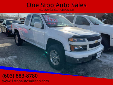 2010 Chevrolet Colorado for sale at One Stop Auto Sales in Hudson NH