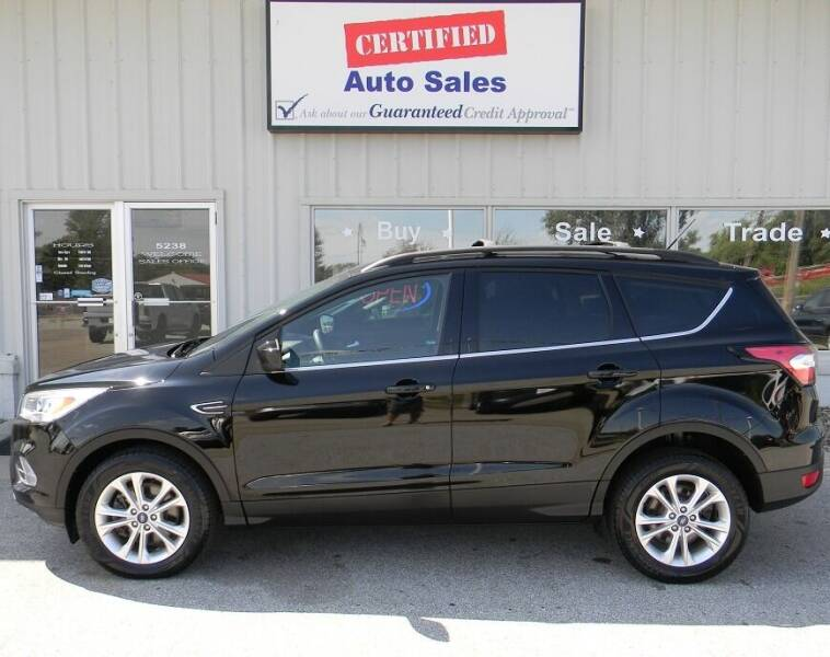 2017 Ford Escape for sale at Certified Auto Sales in Des Moines IA