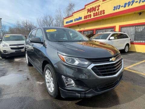 2018 Chevrolet Equinox for sale at Popas Auto Sales in Detroit MI