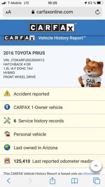 2016 Toyota Prius Four Touring 4dr Hatchback - Van Nuys CA