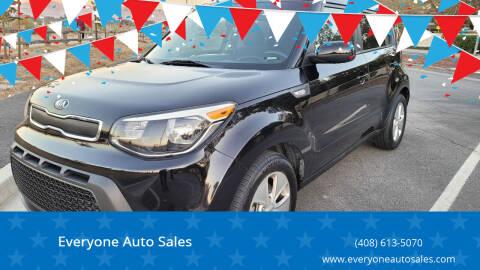 2014 Kia Soul for sale at Everyone Auto Sales in Santa Clara CA