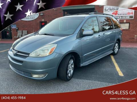 2004 Toyota Sienna for sale at Cars4Less GA in Alpharetta GA