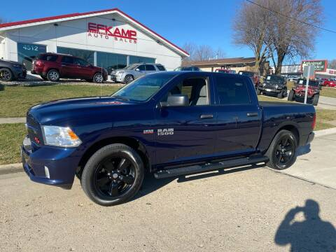 2014 RAM Ram Pickup 1500 for sale at Efkamp Auto Sales LLC in Des Moines IA