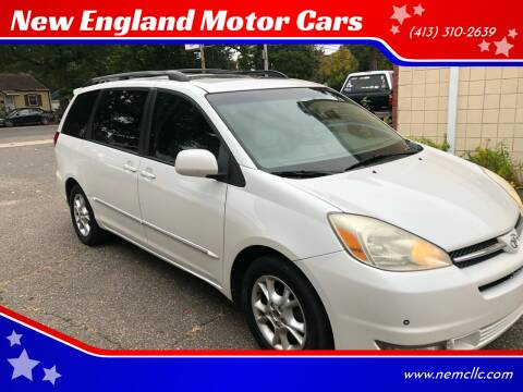 2005 Toyota Sienna for sale at New England Motor Cars in Springfield MA