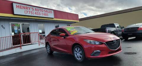 2014 Mazda MAZDA3 for sale at Henry's Autosales, LLC in Reno NV