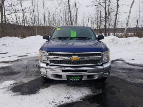 2013 Chevrolet Silverado 1500 for sale at L & R Motors in Greene ME