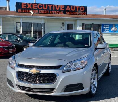 2014 Chevrolet Malibu for sale at Executive Auto in Winchester VA
