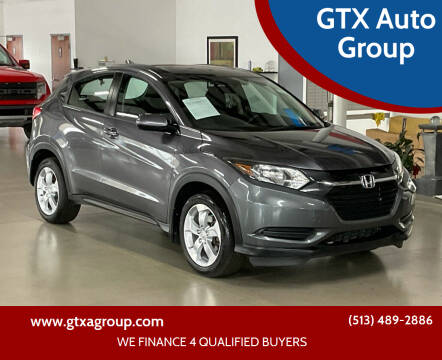 2016 Honda HR-V for sale at GTX Auto Group in West Chester OH