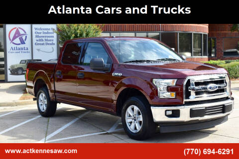 2017 Ford F-150 for sale at Atlanta Cars and Trucks in Kennesaw GA