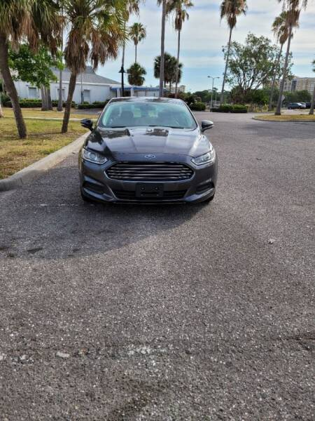 2016 Ford Fusion for sale at ATA   AUTO SALES INC in Sarasota FL