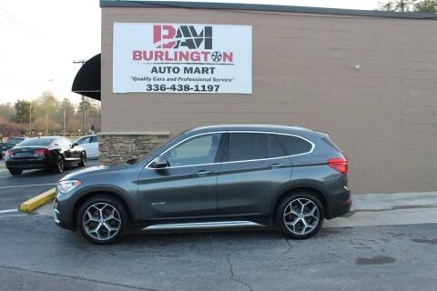 2016 BMW X1 for sale at Burlington Auto Mart in Burlington NC
