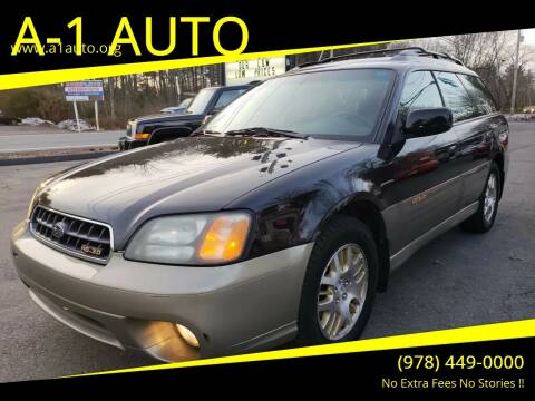 2003 Subaru Outback for sale at A-1 Auto in Pepperell MA