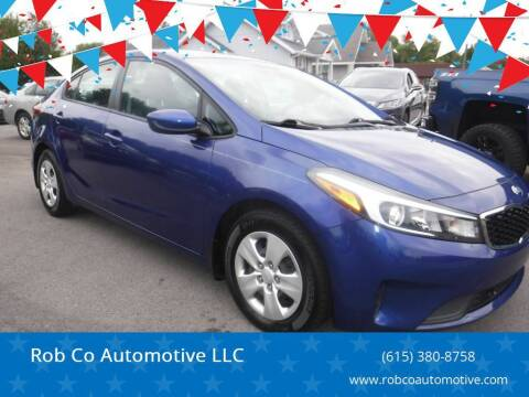2017 Kia Forte for sale at Rob Co Automotive LLC in Springfield TN