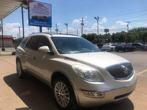 2011 Buick Enclave for sale at Magic Auto Sales - Cash Cars in Dallas TX
