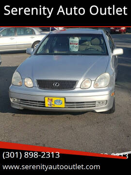 2000 Lexus GS 300 for sale at SERENITY AUTO OUTLET in Frederick MD