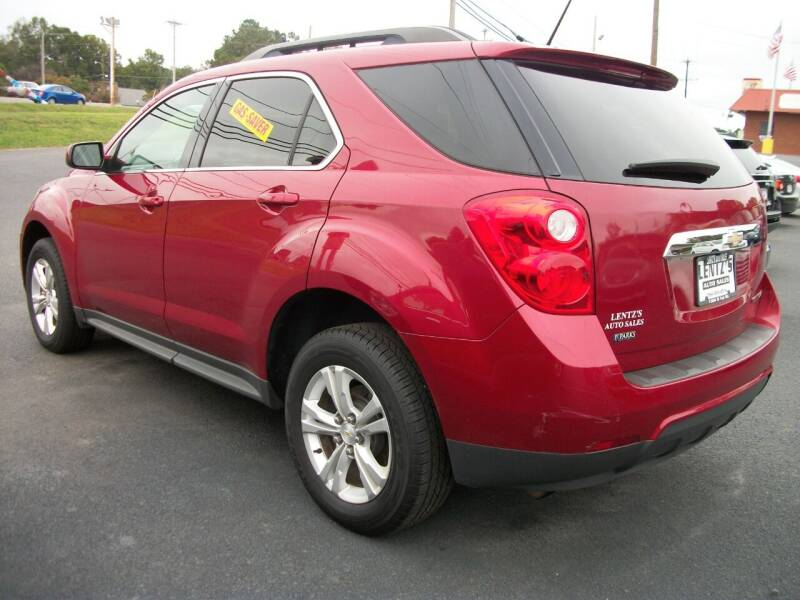 2015 Chevrolet Equinox for sale at Lentz's Auto Sales in Albemarle NC