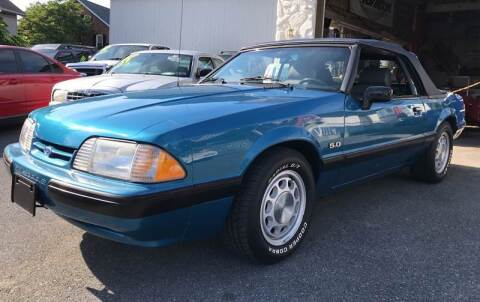 1989 Ford Mustang for sale at Waltz Sales LLC in Gap PA