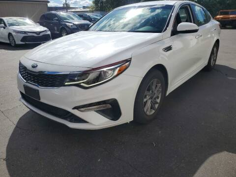 2020 Kia Optima for sale at MIDWEST CAR SEARCH in Fridley MN