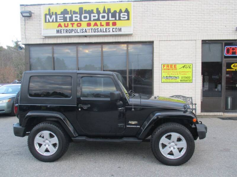 2007 Jeep Wrangler for sale at Metropolis Auto Sales in Pelham NH