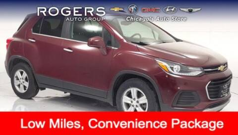 2017 Chevrolet Trax for sale at ROGERS  AUTO  GROUP in Chicago IL