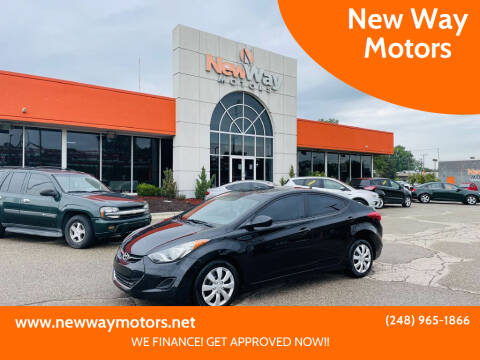 2013 Hyundai Elantra for sale at New Way Motors in Ferndale MI