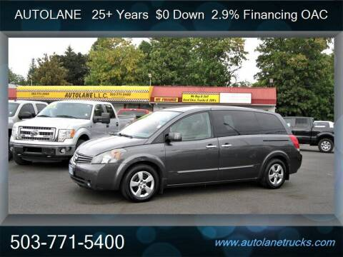 2008 Nissan Quest for sale at Auto Lane in Portland OR