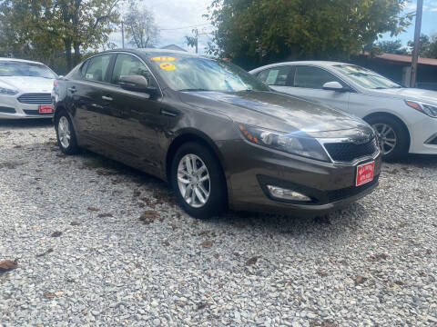 2012 Kia Optima for sale at Hill Country Auto Sales in Maynard AR