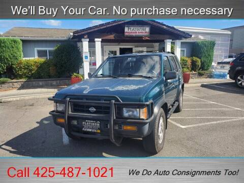 1995 Nissan Pathfinder for sale at Platinum Autos in Woodinville WA