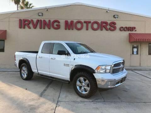2016 RAM Ram Pickup 1500 for sale at Irving Motors Corp in San Antonio TX