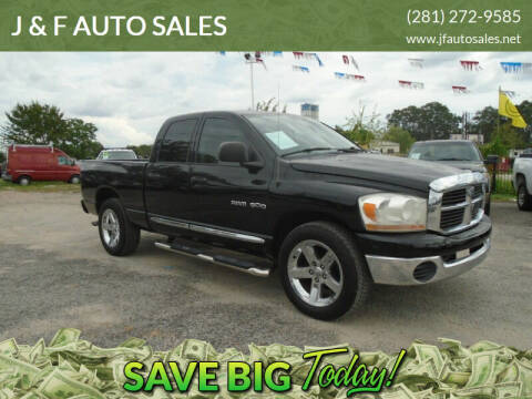 2006 Dodge Ram Pickup 1500 for sale at J & F AUTO SALES in Houston TX