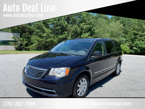 2011 Chrysler Town and Country for sale at Auto Deal Line in Alpharetta GA