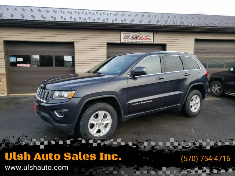 2015 Jeep Grand Cherokee for sale at Ulsh Auto Sales Inc. in Summit Station PA