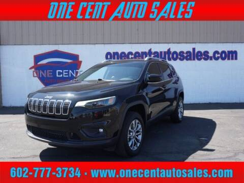 2019 Jeep Cherokee for sale at One Cent Auto Sales in Glendale AZ