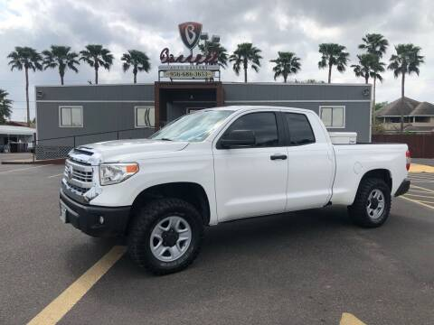 2014 Toyota Tundra for sale at Barrett Auto Gallery in San Juan TX