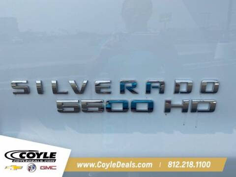 2020 Chevrolet Silverado 5500 HD for sale at COYLE GM - COYLE NISSAN - New Inventory in Clarksville IN