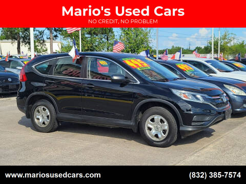 2016 Honda CR-V for sale at Mario's Used Cars in Houston TX