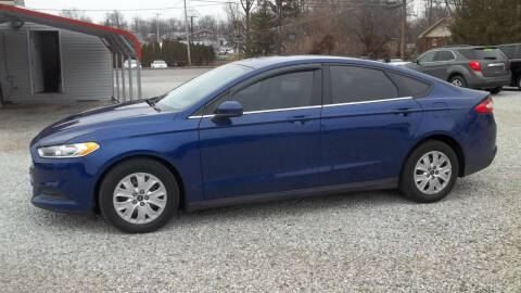 2013 Ford Fusion for sale at MIKE'S CYCLE & AUTO - Mikes Cycle and Auto (Liberty) in Liberty IN