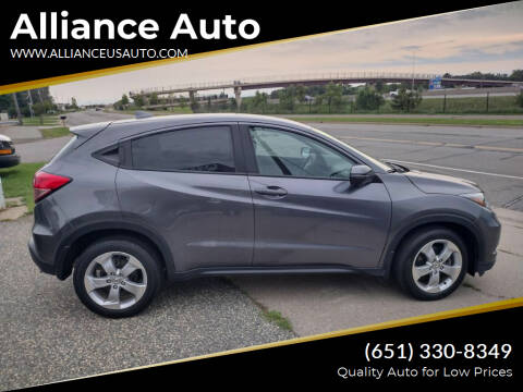 2016 Honda HR-V for sale at Alliance Auto in Newport MN