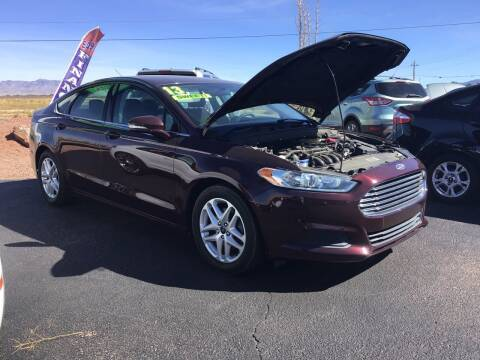 2013 Ford Fusion for sale at SPEND-LESS AUTO in Kingman AZ