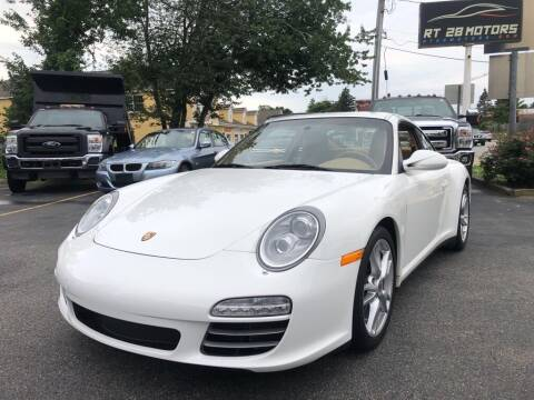 2009 Porsche 911 for sale at RT28 Motors in North Reading MA