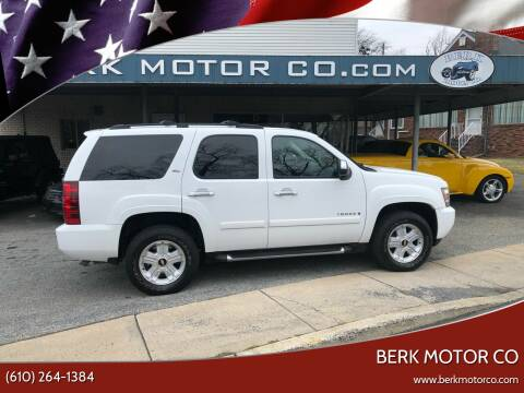 2007 Chevrolet Tahoe for sale at Berk Motor Co in Whitehall PA