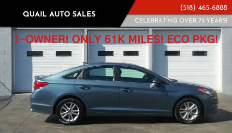 2016 Hyundai Sonata for sale at Quail Auto Sales in Albany NY