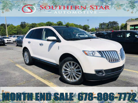 2013 Lincoln MKX for sale at Southern Star Automotive, Inc. in Duluth GA