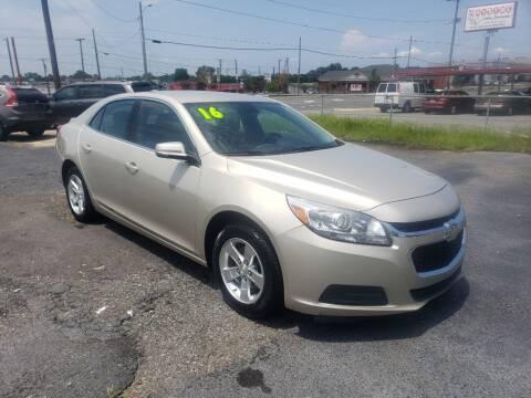 2016 Chevrolet Malibu Limited for sale at Lara's Auto Sales LLC in Concord NC