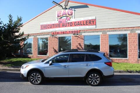 2017 Subaru Outback for sale at EXECUTIVE AUTO GALLERY INC in Walnutport PA